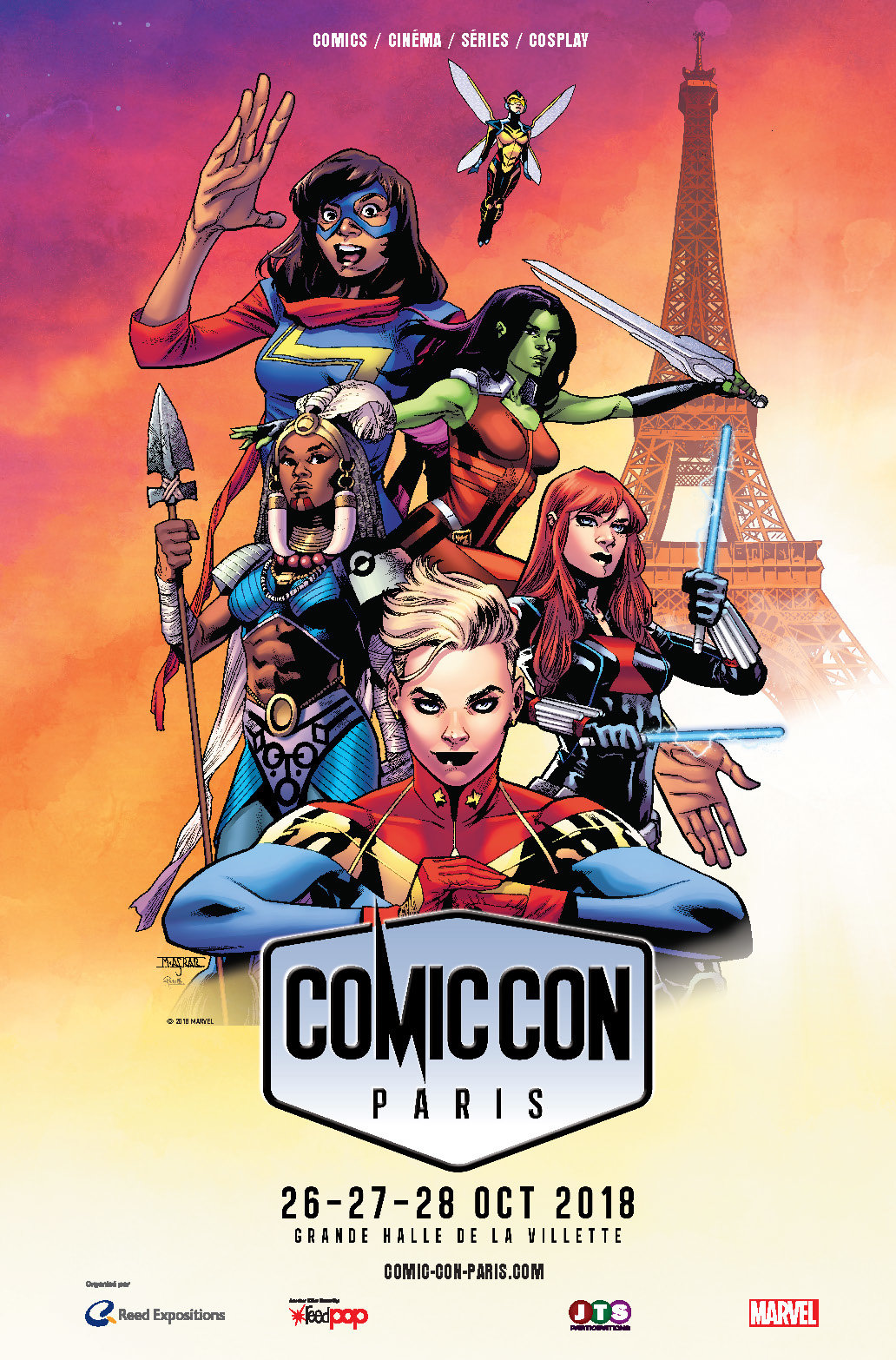 Comic Con Paris - Octobre 2018