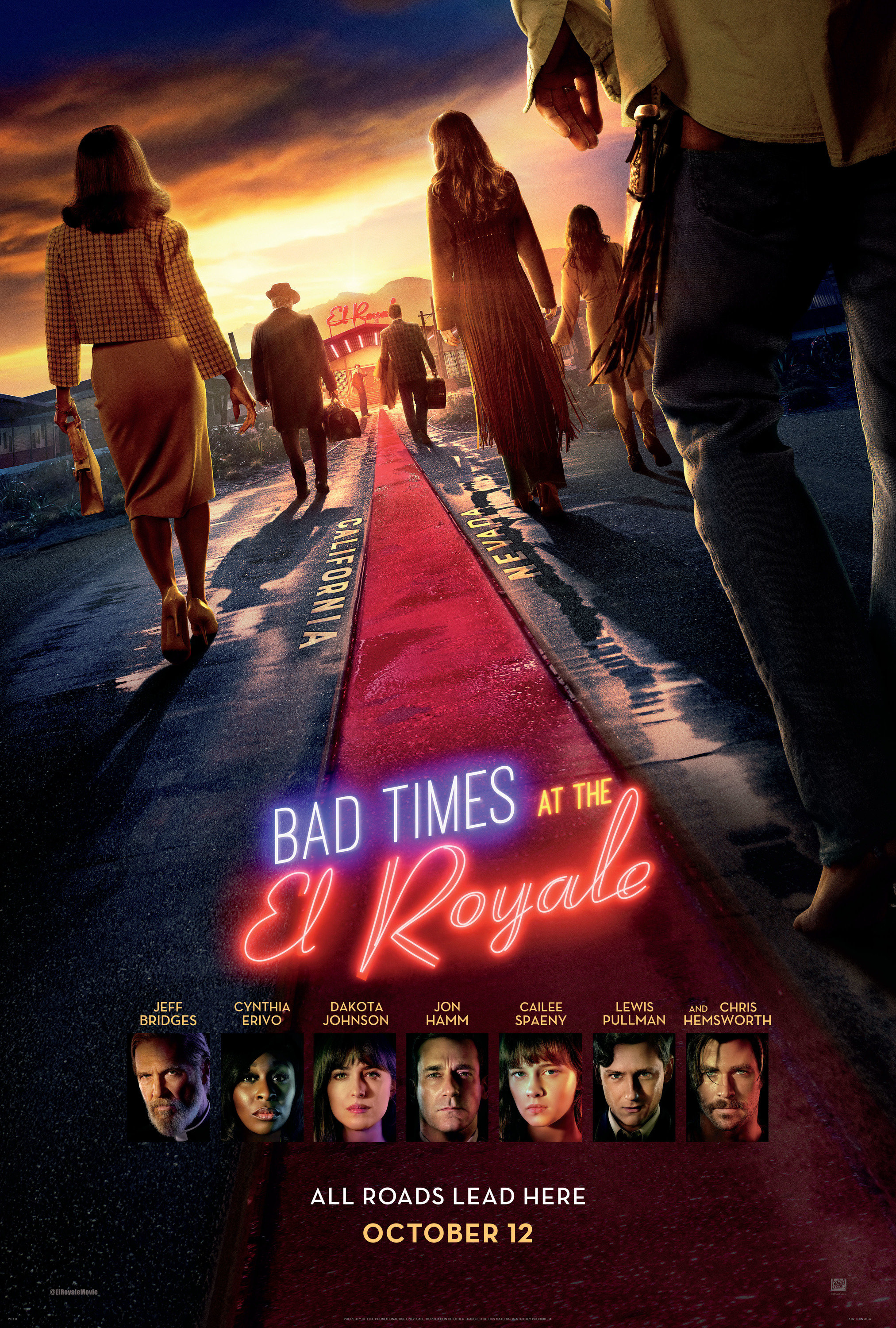 Sorties Ciné : Sale Temps A L'Hotel El Royale