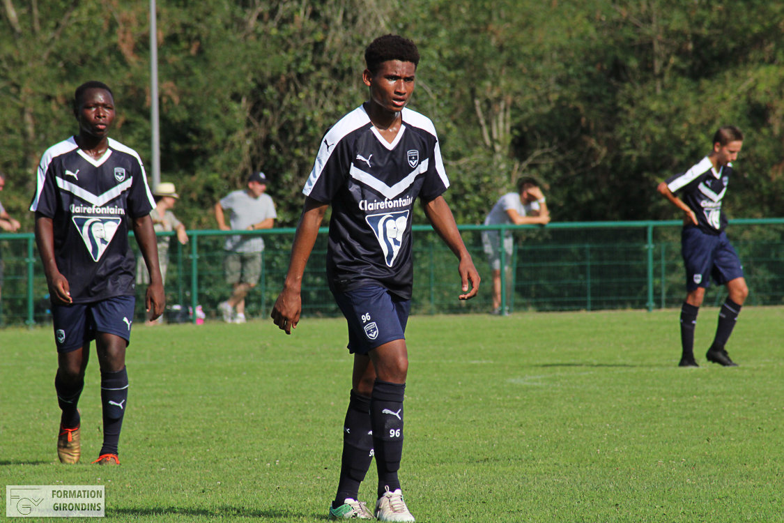 Cfa Girondins : Belle victoire contre Niort - Formation Girondins