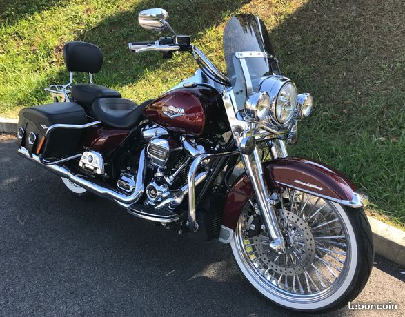"Photos de Road King avec une roue avant de 19"" ou 21"" We0w"