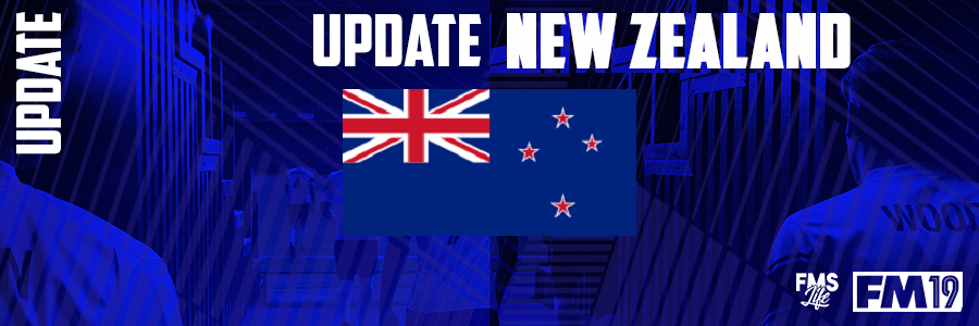 Football Manager 2019 League Updates - [FM19] New Zeland (D4)
