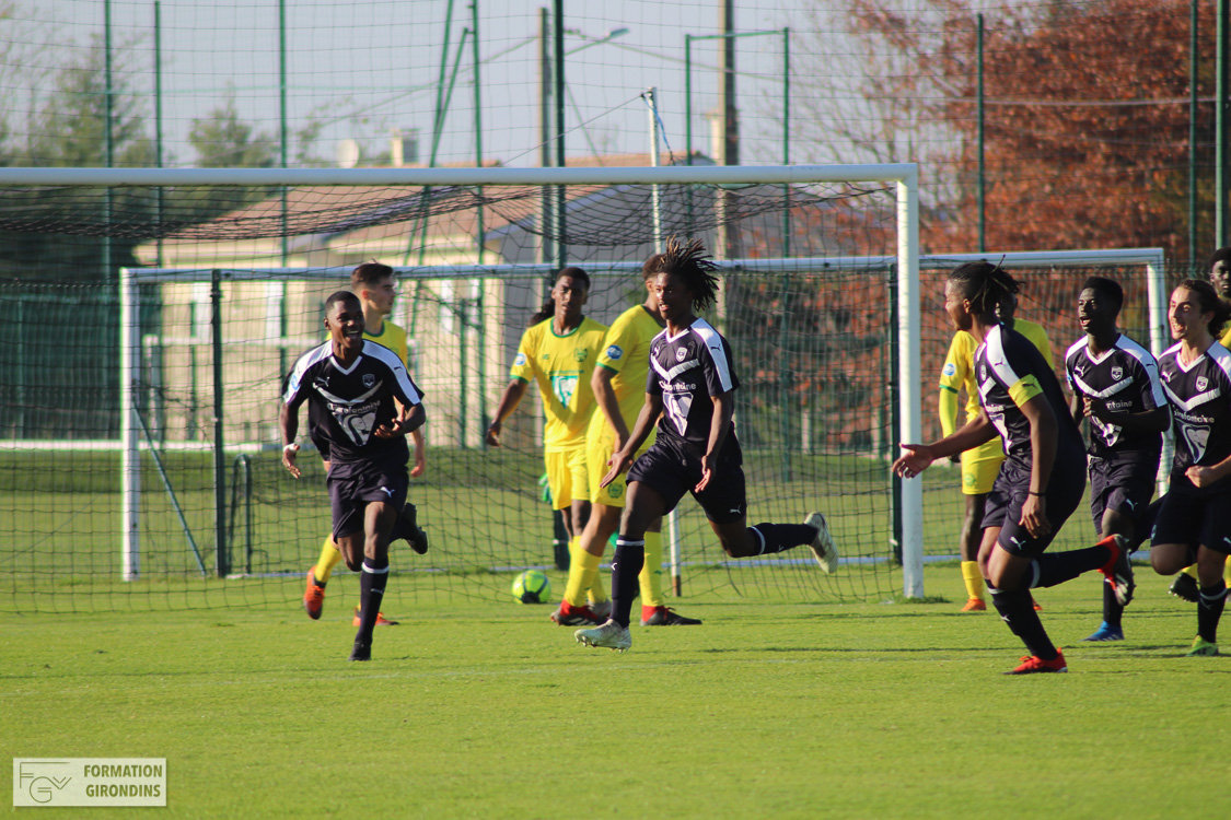 Cfa Girondins : Les photos de Bordeaux - Nantes - Formation Girondins