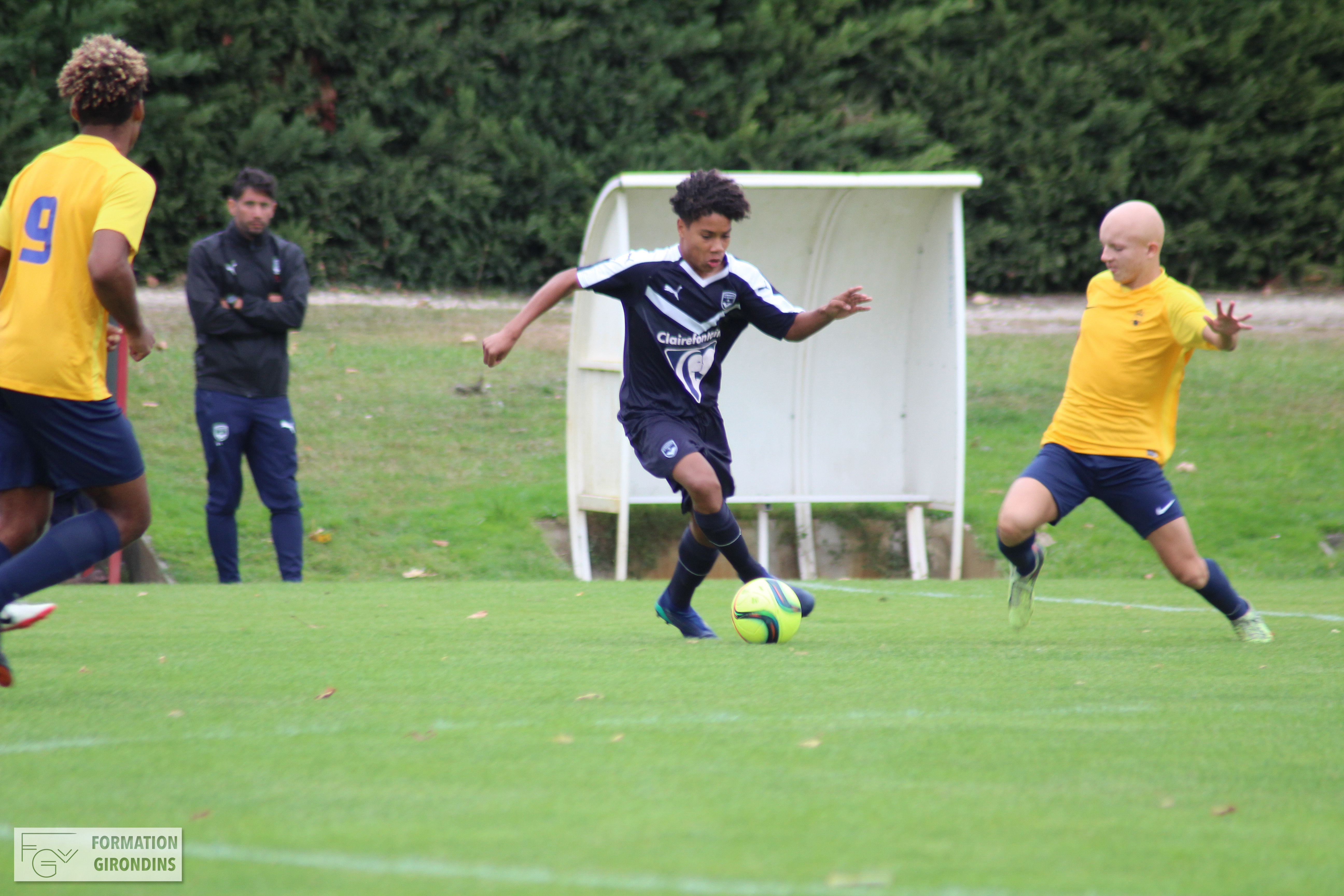 Cfa Girondins : Victoire chez le leader - Formation Girondins
