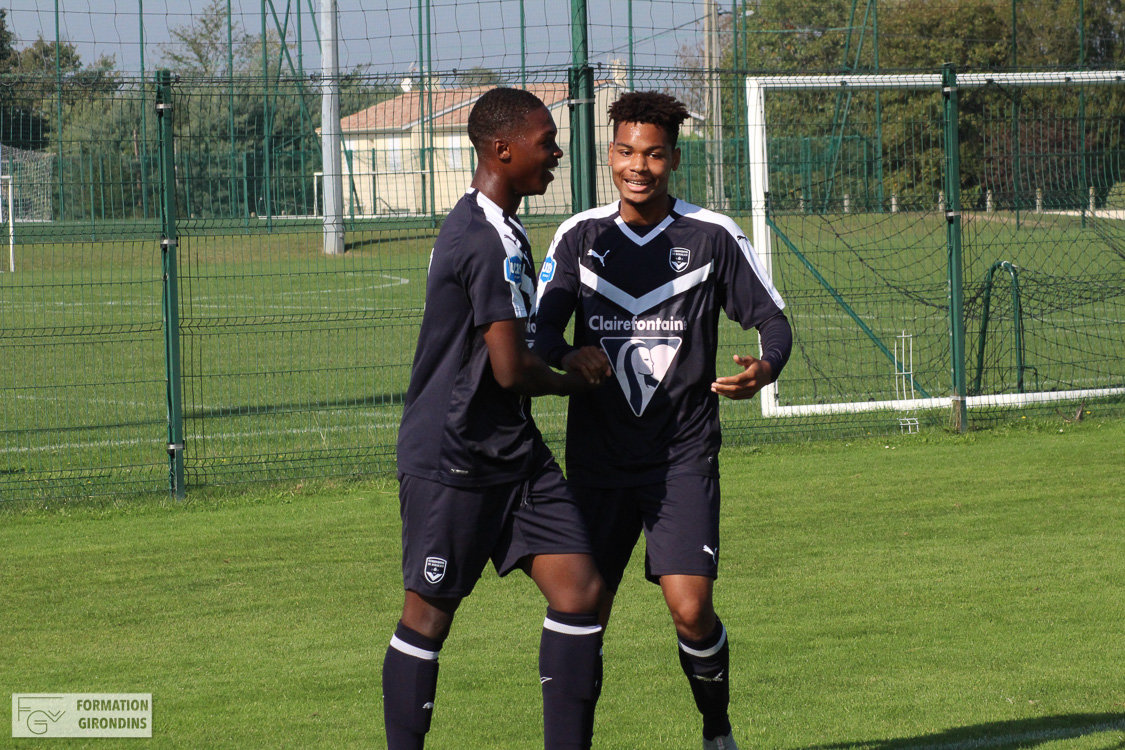 Cfa Girondins : Nouvelle victoire contre Brest - Formation Girondins