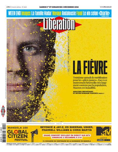 Libération Du Samedi 1er & Dimanche 2 Décembre 2018