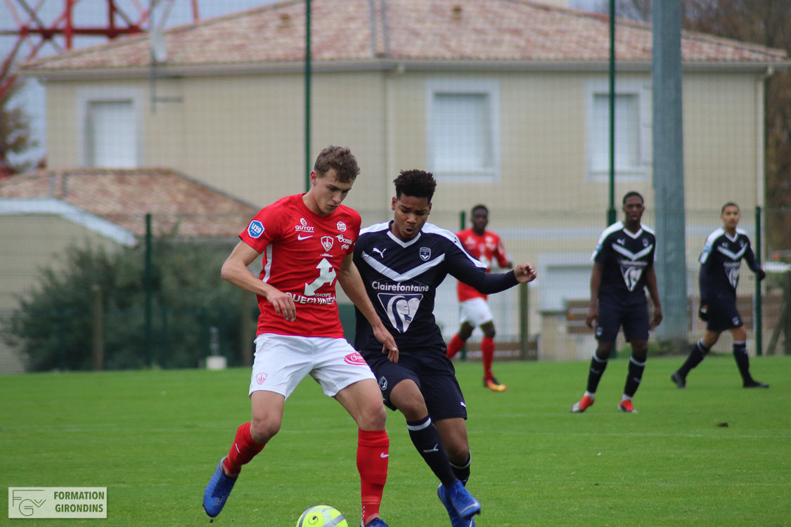 Cfa Girondins : Les photos de Bordeaux - Brest - Formation Girondins