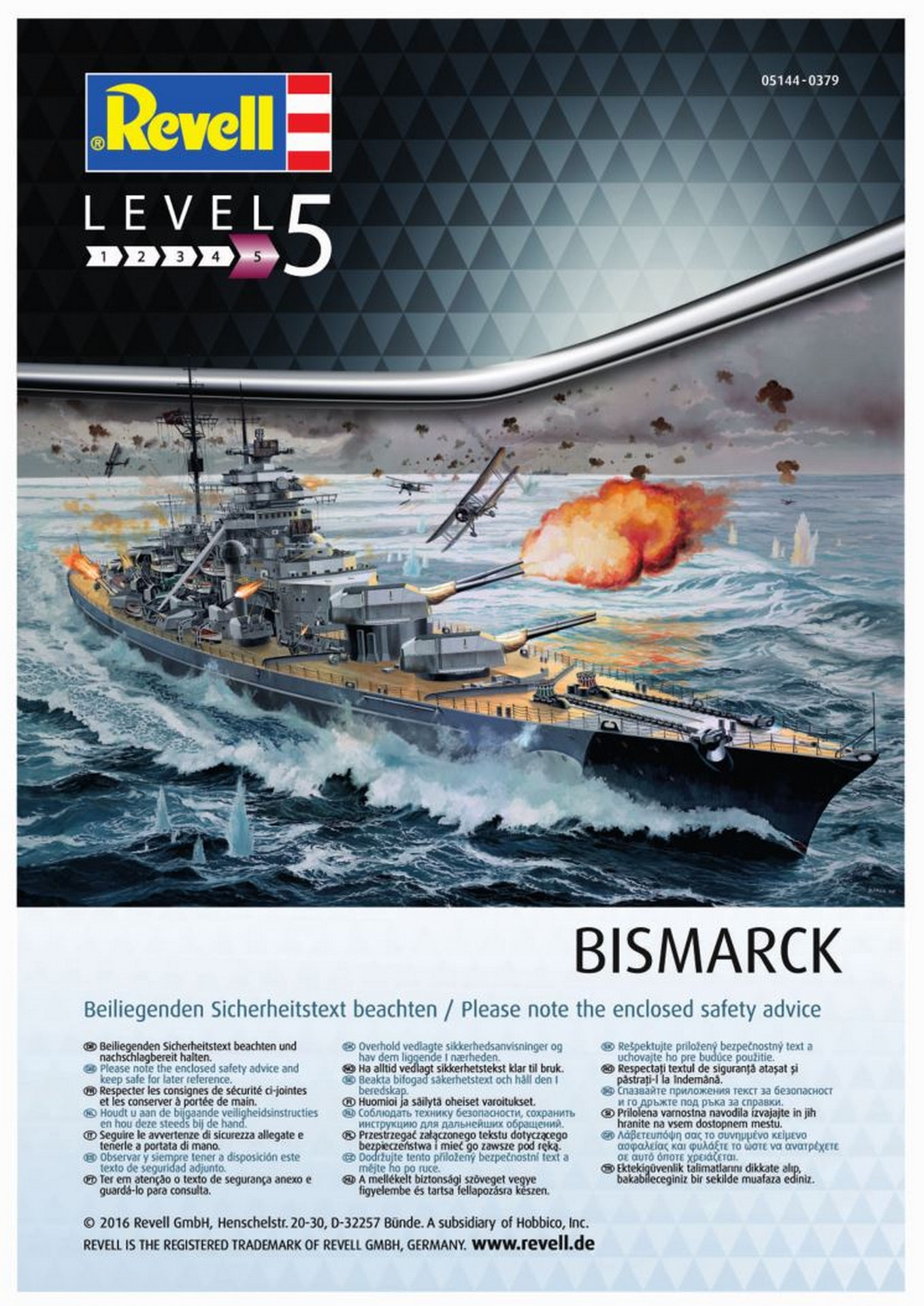 Bismarck Revell 1/350 H6oh
