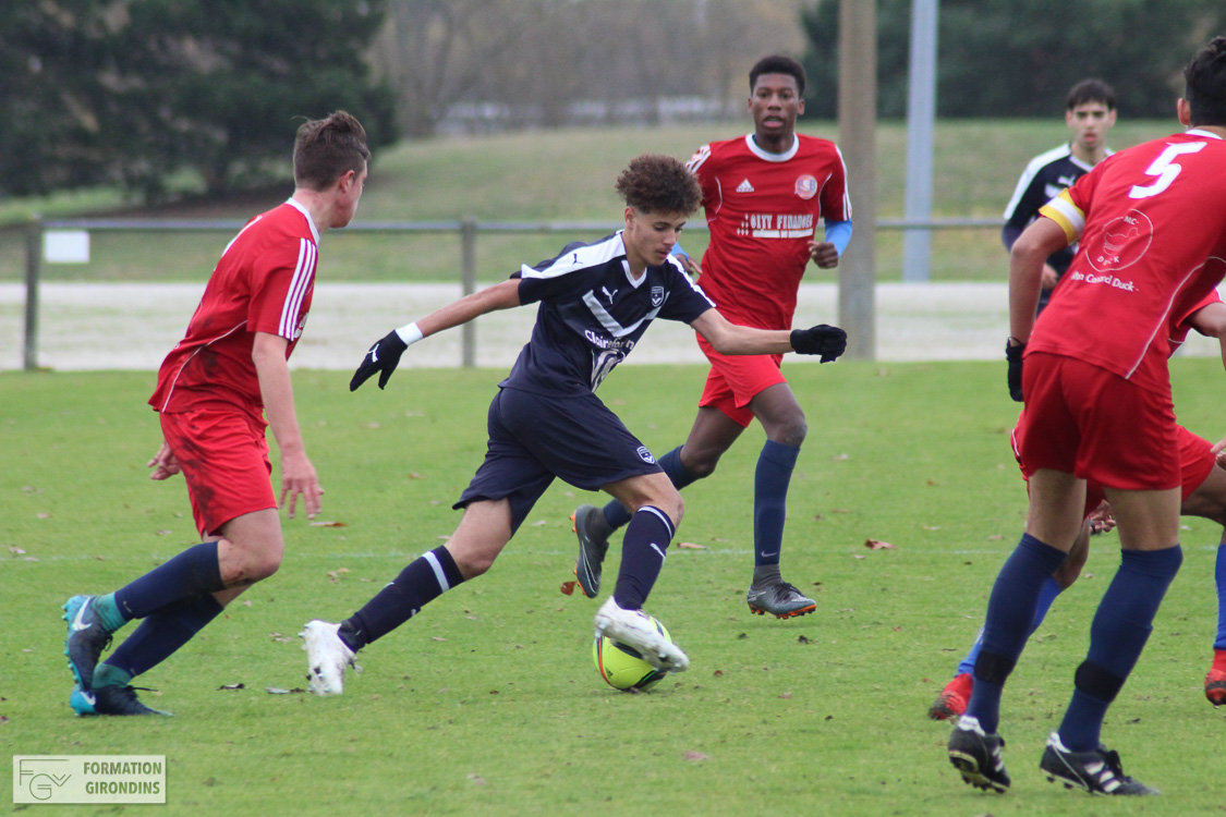 Cfa Girondins : A Bayonne pour grimper au classement - Formation Girondins