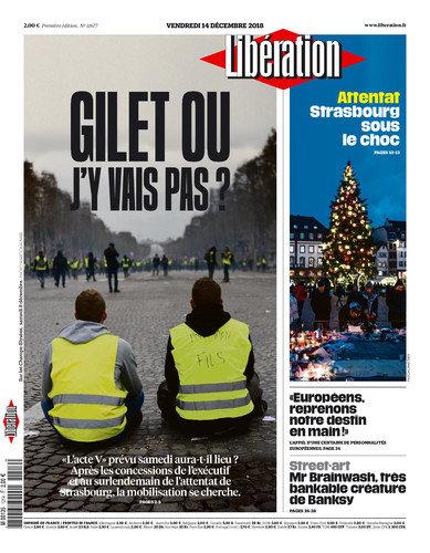 Libération Du Vendredi 14 Décembre 2018