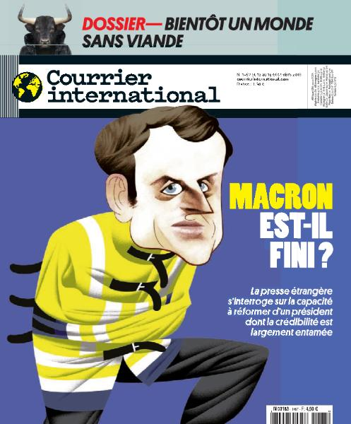 Courrier International - 13 Décembre 2018