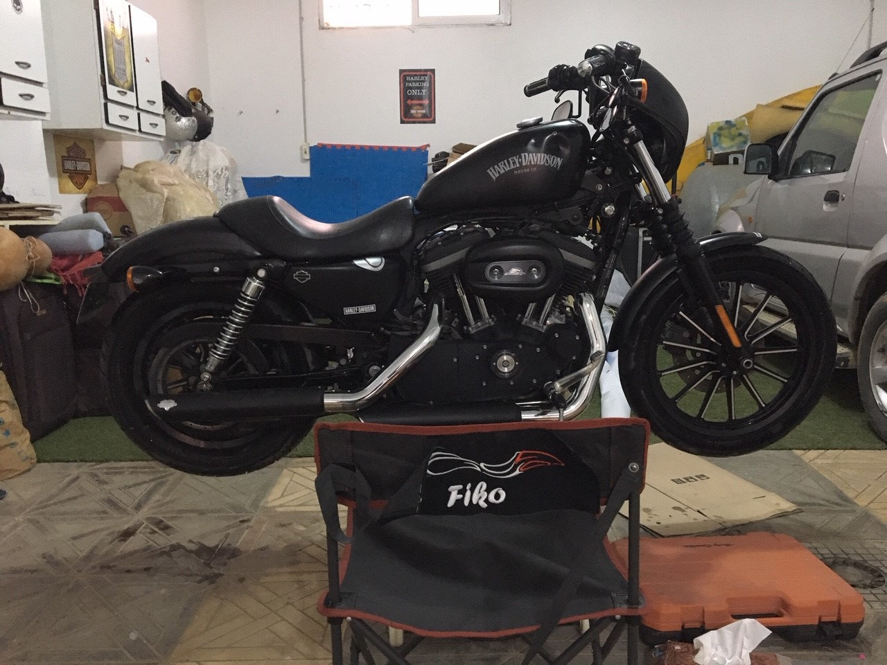 nouvelle acquisition Iron 883 V47m
