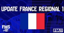 [FM19] France (Regional 1 - D6) - By @Timo@
