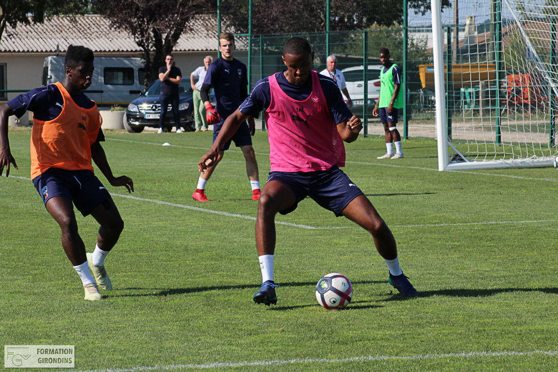 Cfa Girondins : Le groupe pour Orléans - Formation Girondins