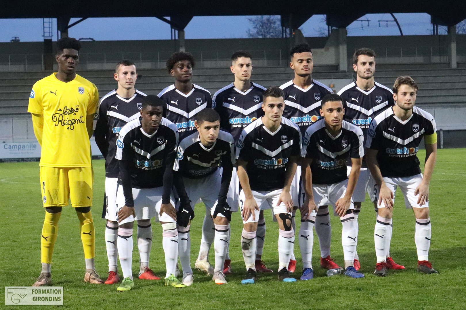 Cfa Girondins : Match en retard face au leader - Formation Girondins