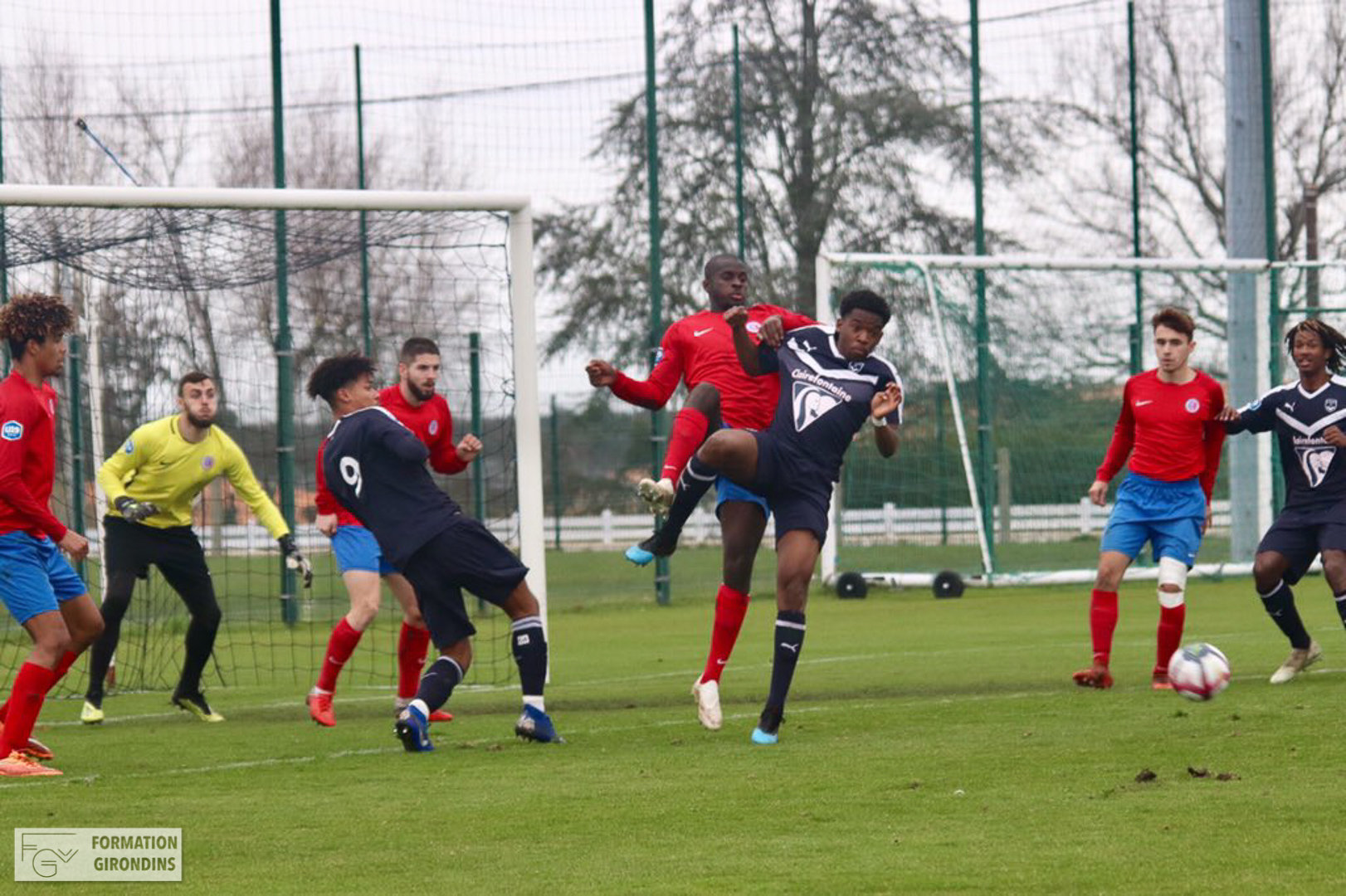 Cfa Girondins : Les Girondins s'inclinent à domicile - Formation Girondins