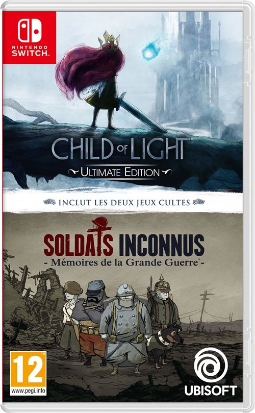 Child Of Light Ultimate Edition Plus Valiant Hearts The Great War