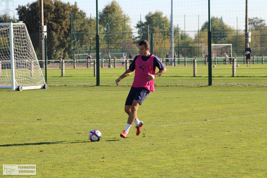 Cfa Girondins : Alexandre Lauray - « On attend autre chose collectivement » - Formation Girondins