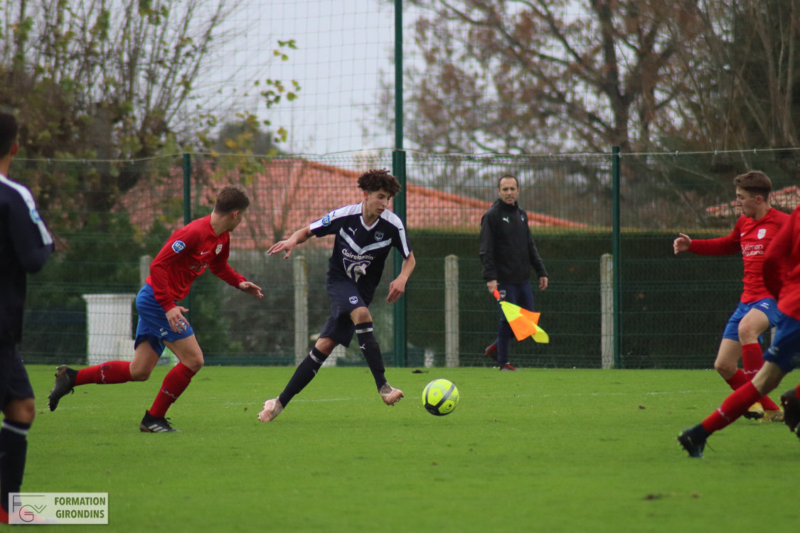 Cfa Girondins : Match en retard face au leader invaincu - Formation Girondins