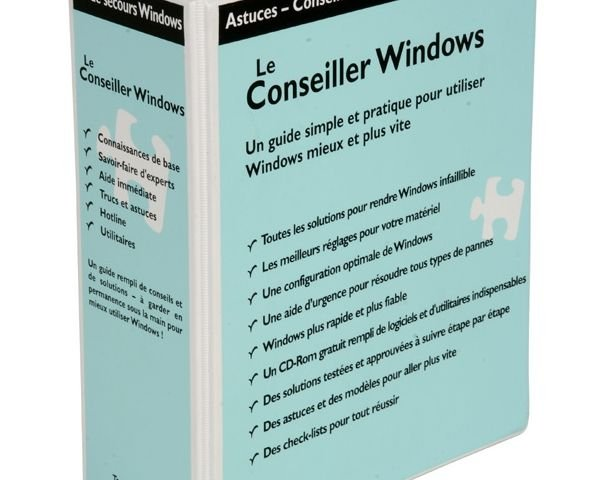 Le Conseiller Windows Edition Windows XP