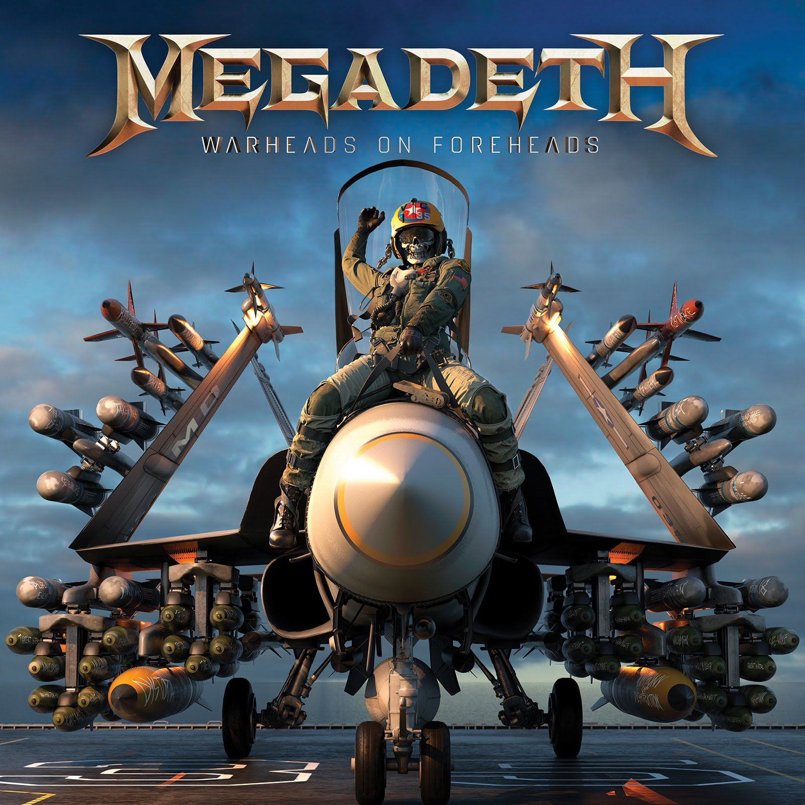 Megadeth : Warheads On Foreheads