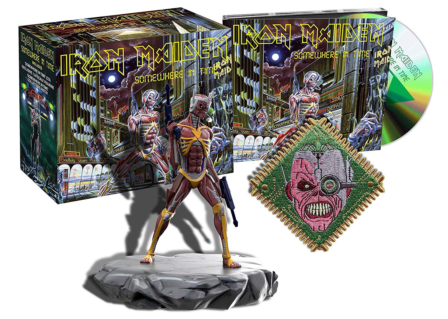 Iron Maiden - Somewhere In Time - Studio Collection - Remastered