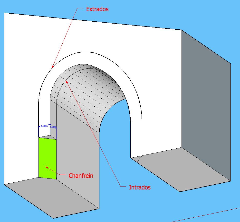[ SKETCHUP généralité ] Tracer la paralèlle à une courbe sur un plan courbe? Ti10
