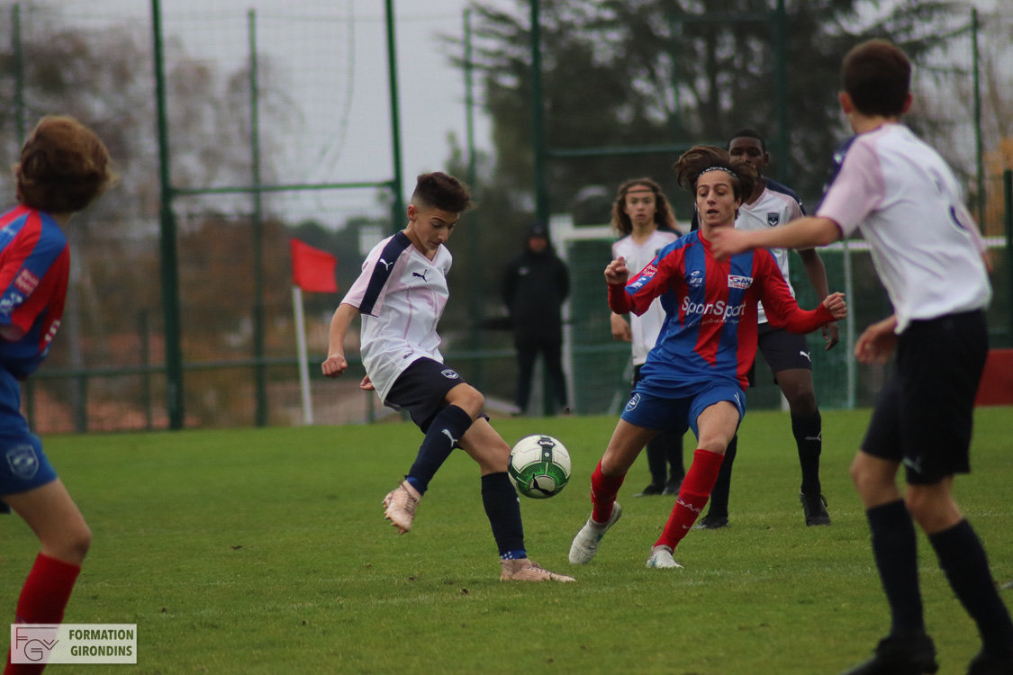 Cfa Girondins : Les U16 s'imposent, les U15 font match nul - Formation Girondins