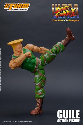 Ultra Street Fighter II: The Final Challengers - Guile Action Figure G1b5