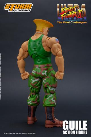 Ultra Street Fighter II: The Final Challengers - Guile Action Figure Isu9
