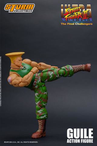 Ultra Street Fighter II: The Final Challengers - Guile Action Figure Ojpu