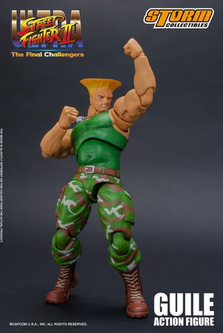 Ultra Street Fighter II: The Final Challengers - Guile Action Figure Rezz