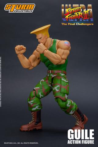Ultra Street Fighter II: The Final Challengers - Guile Action Figure Sgzj