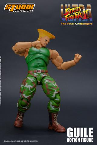Ultra Street Fighter II: The Final Challengers - Guile Action Figure Zqx1