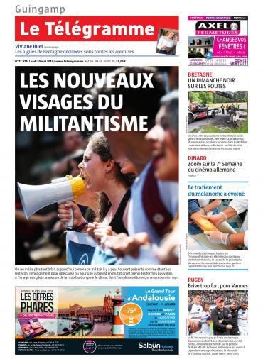 Le Télégramme ( 8 Editions) Du Lundi 20 Mai 2019