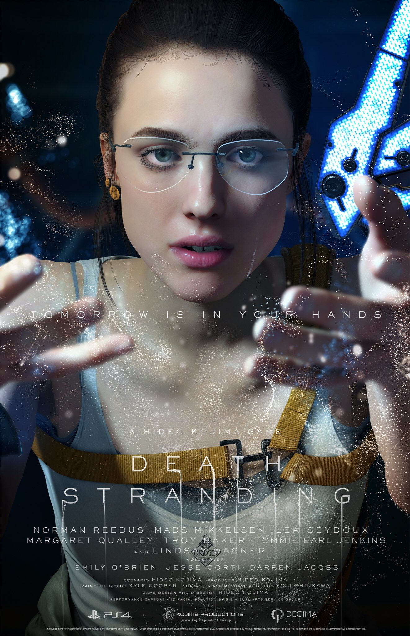 Death Stranding : Margaret Qualley