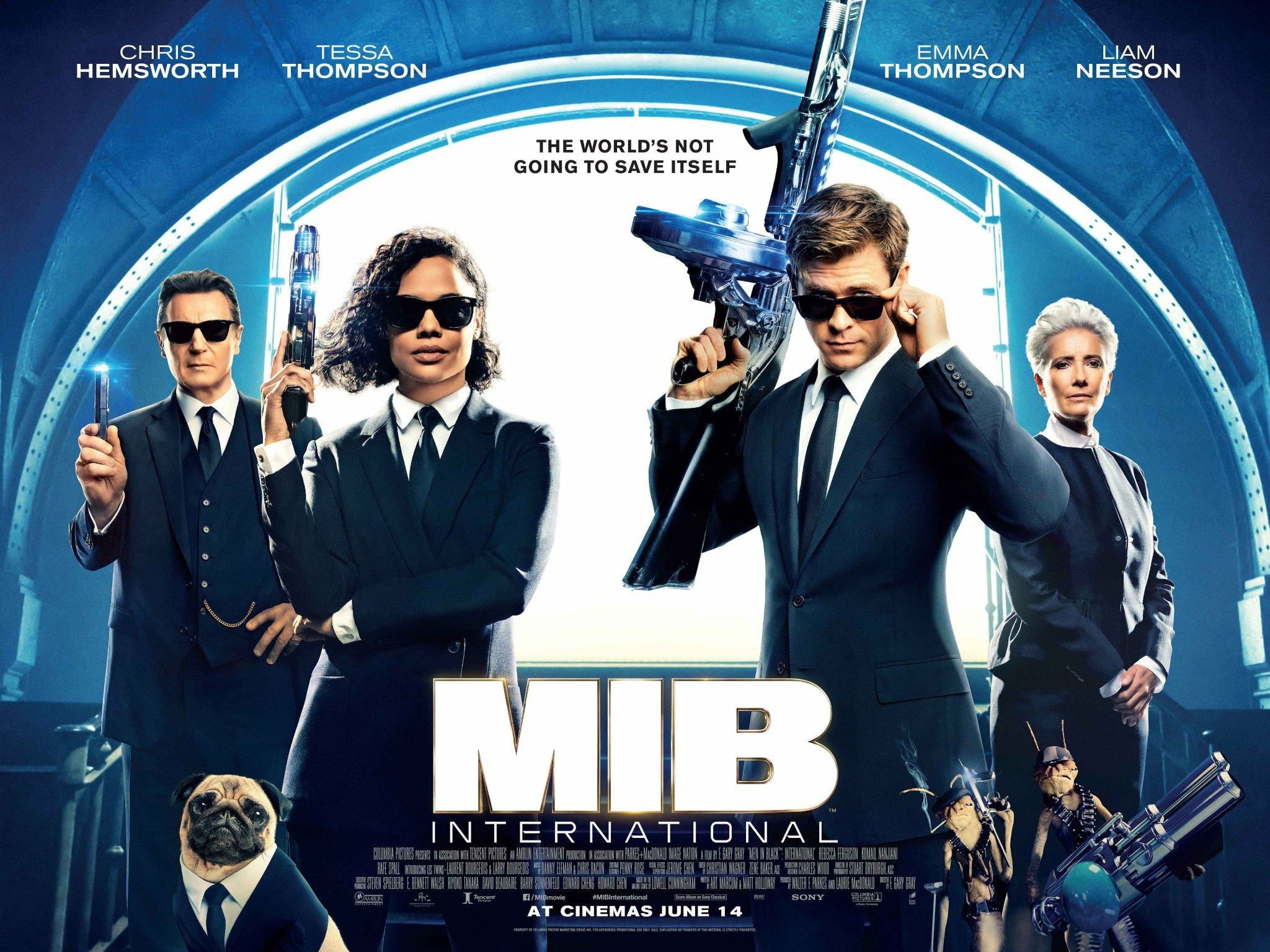 Sorties Ciné : Men In Black International