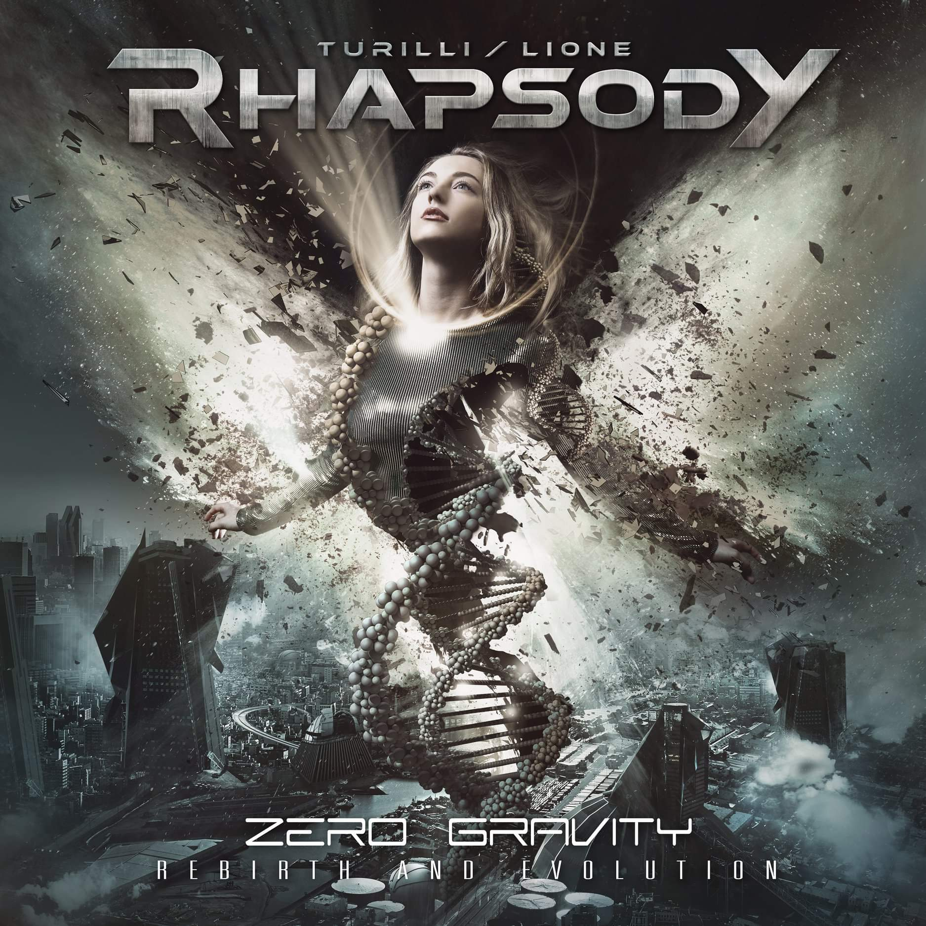 Turilli / Lione Rhapsody : Zero Gravity - Rebirth And Evolution