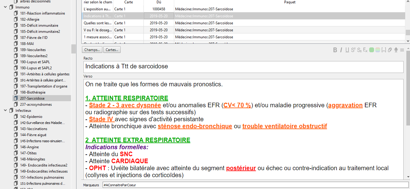 26000 Fiches Anki [INTEGRALITE DU PROGRAMME Ecni] As3m