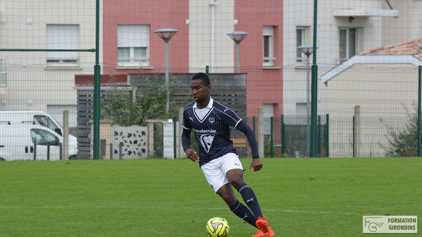 Cfa Girondins : Sam Guezo au SU Dives-Cabourg - Formation Girondins