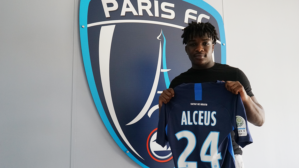 Cfa Girondins : Bryan Alceus s'engage avec le Paris FC - Formation Girondins