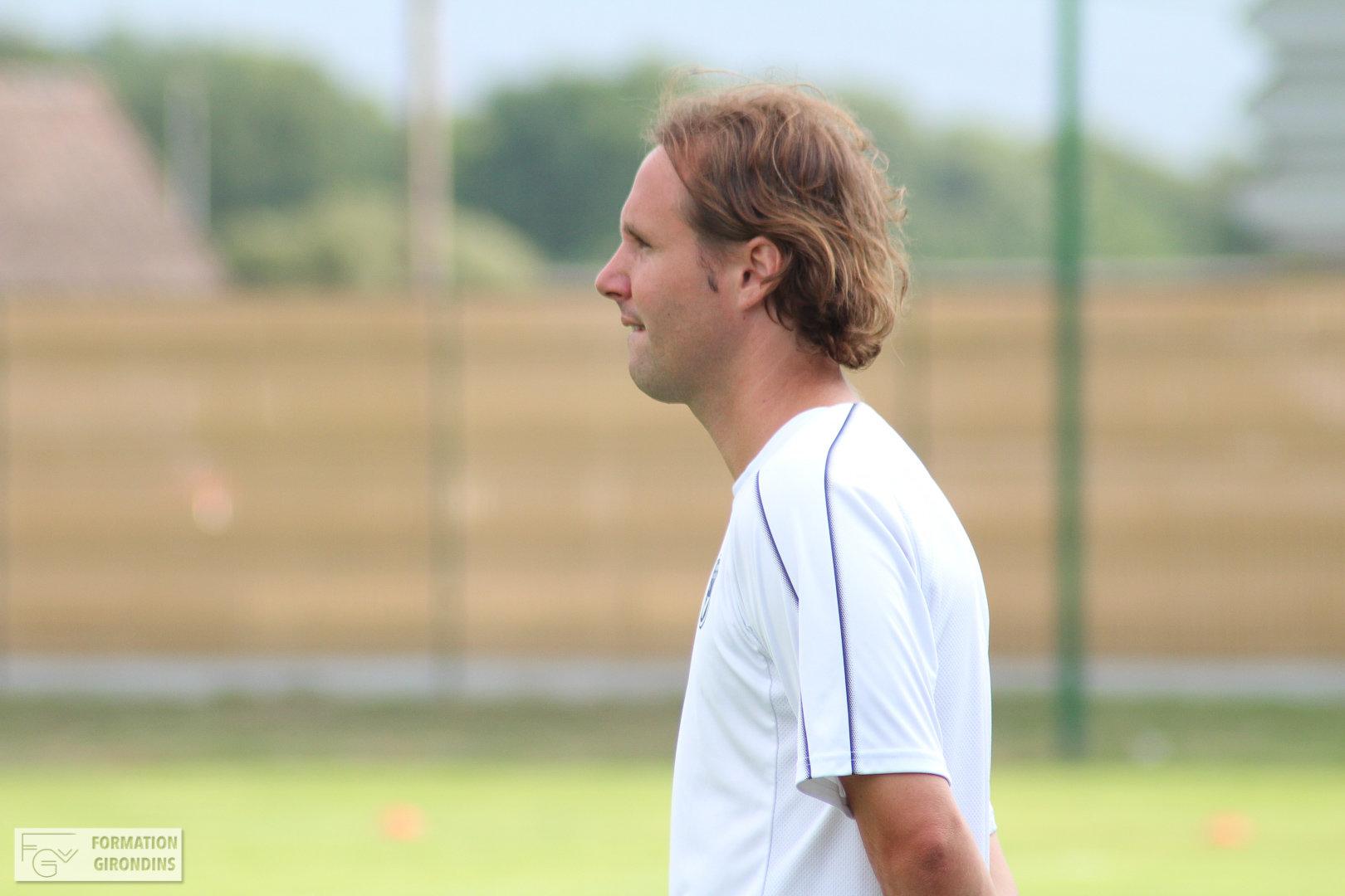 Cfa Girondins : Manu Giudicelli - « C'est un match qui permet de tirer des enseignements sur le chemin qui reste à parcourir » - Formation Girondins