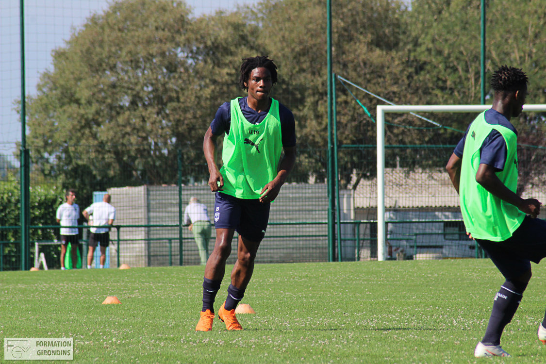 Cfa Girondins : Steeve Eboa signe professionnel en Italie - Formation Girondins