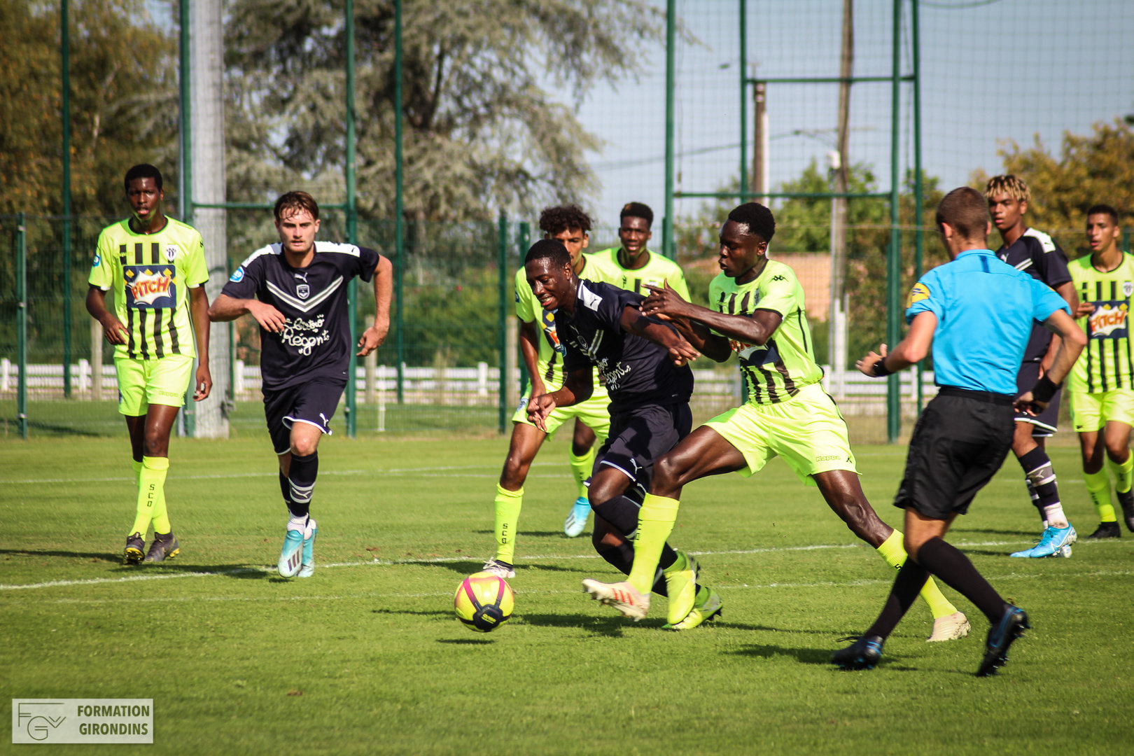 Cfa Girondins : Un programme au complet - Formation Girondins