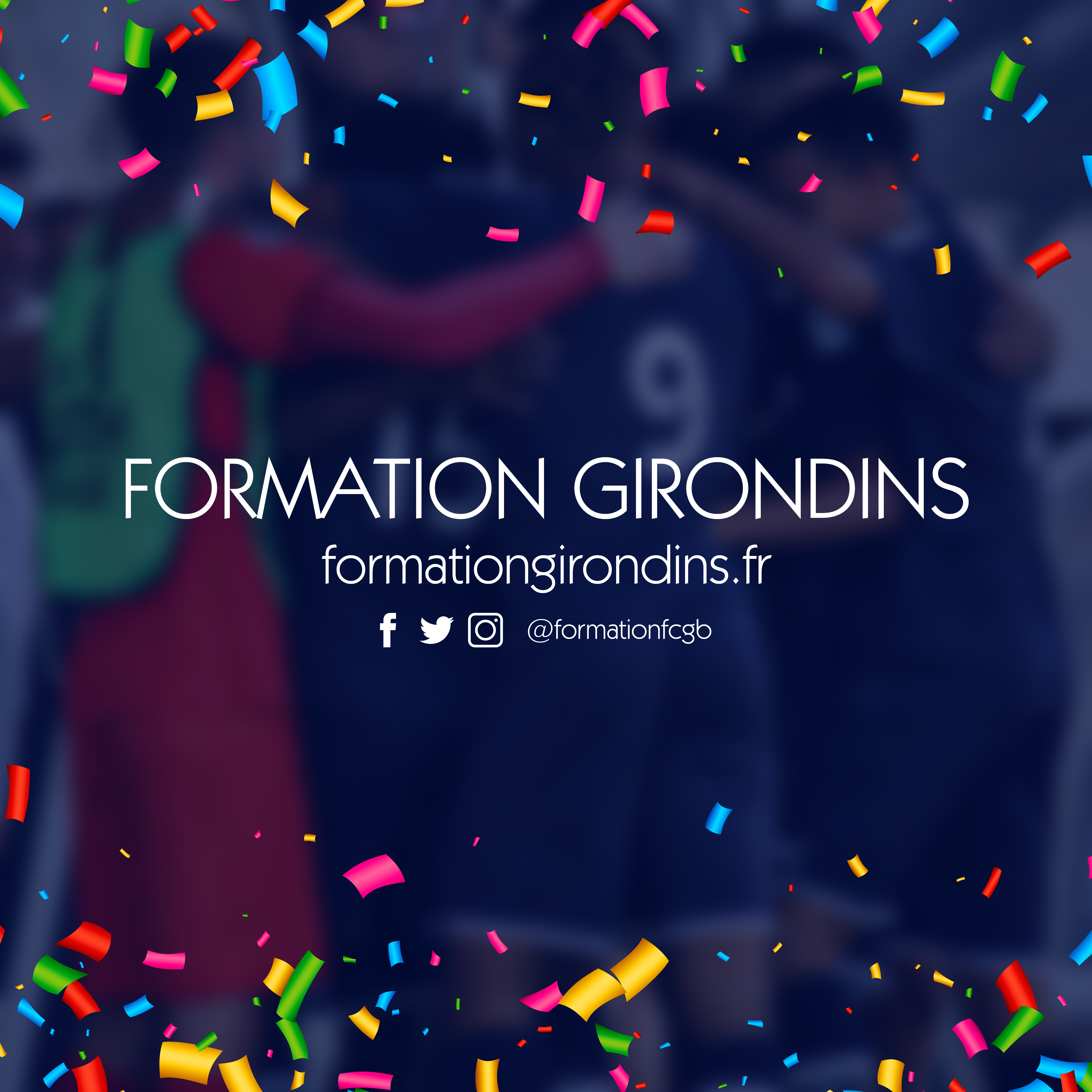 Cfa Girondins : Formation Girondins a 7 ans ! - Formation Girondins
