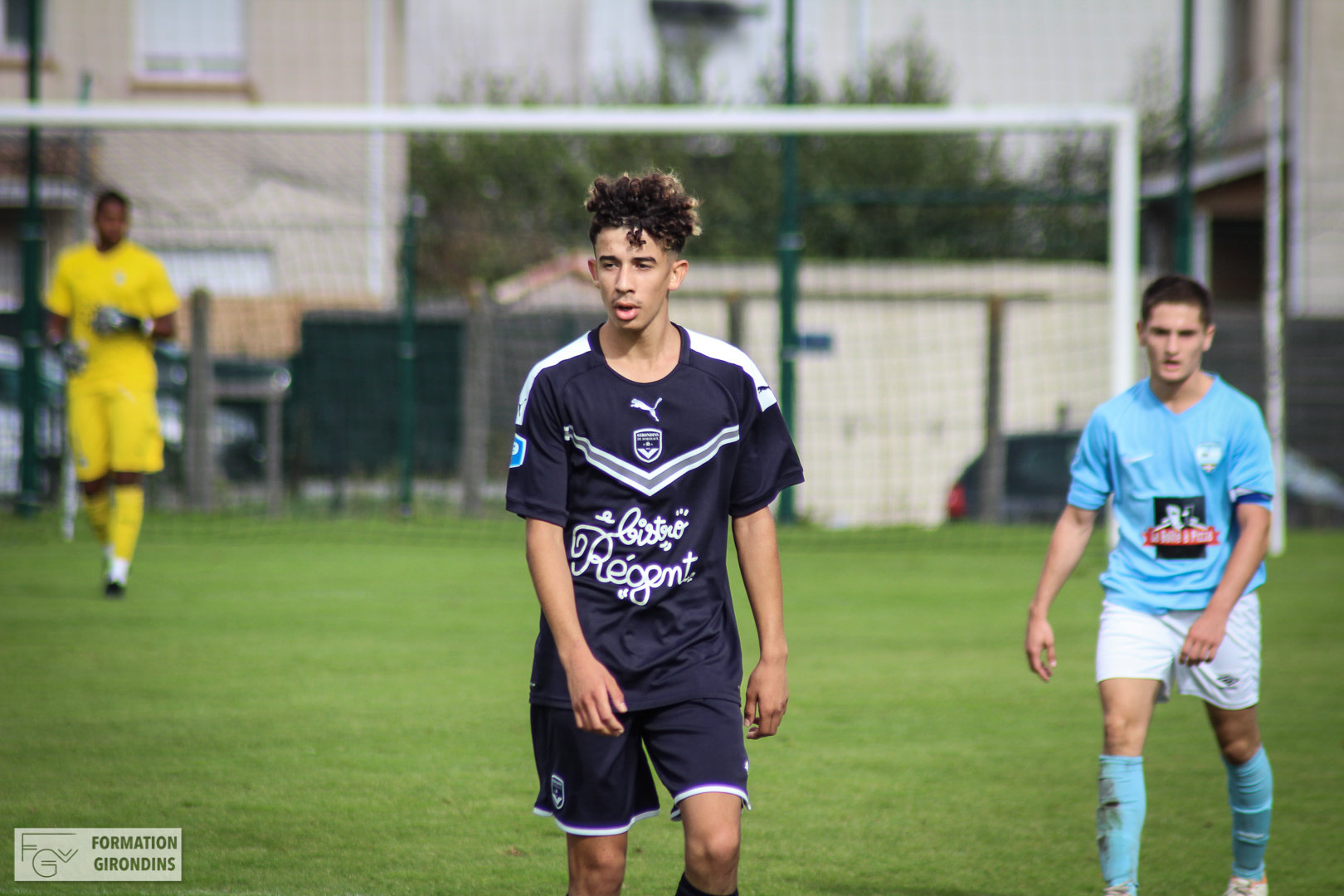 Cfa Girondins : Walid Gharnout signe stagiaire pro - Formation Girondins