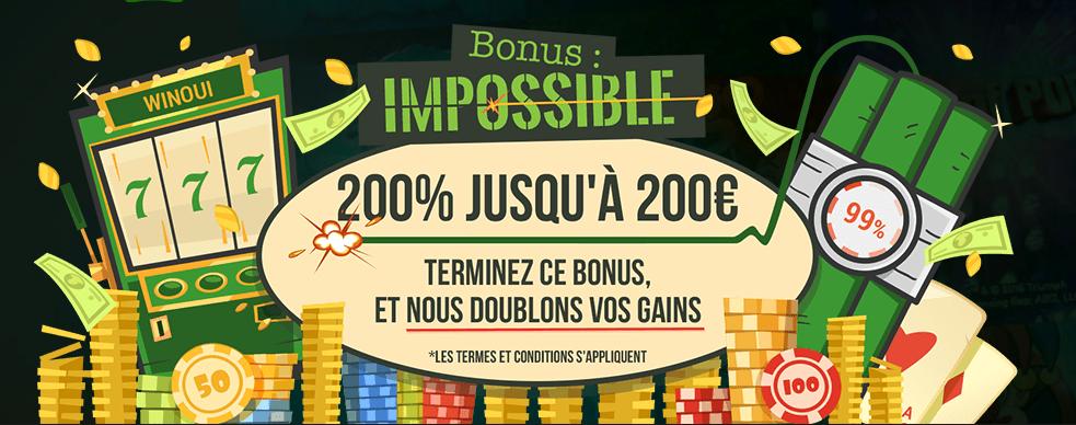 Bonus Impossible
