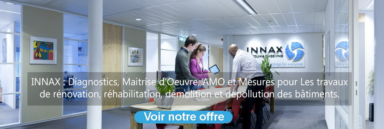 Qualificert amiante avant rénovation et démolition