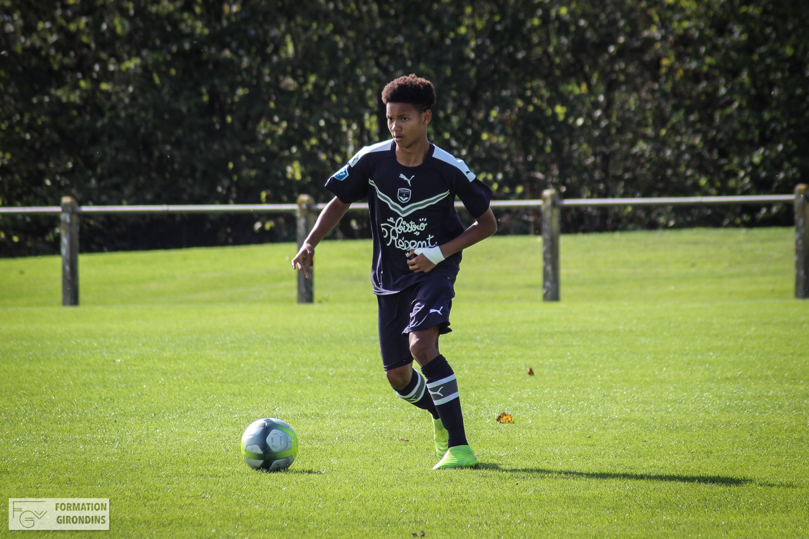 Cfa Girondins : Lenny Pirringuel buteur lors du match nul des U16 - Formation Girondins