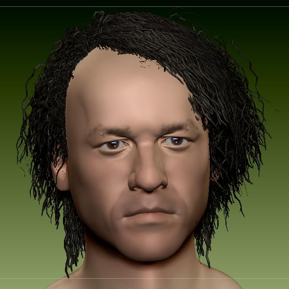 3D JOKER HEATH LEDGER  6dkd