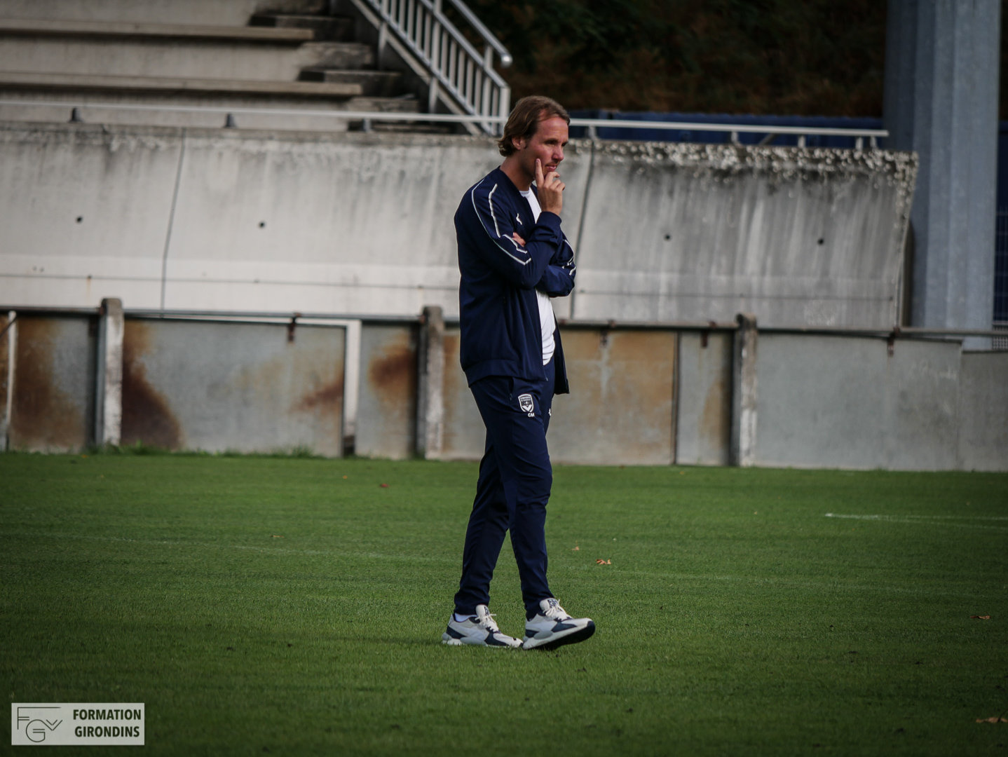 Cfa Girondins : Manu Giudicelli - « II faut continuer, ce n'est que le début » - Formation Girondins